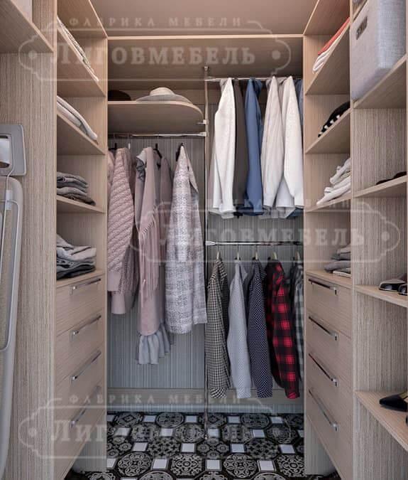Изготовление гардеробных и мебели для гардеробной в санкт-пе.